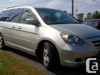 Make Honda Model Odyssey Year 2006 Colour gray kms