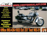 2006 Honda Shadow Aero 750 This Bike Is A Must See!