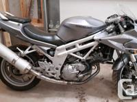 Awesome starter bike, only 15000KMS on it!!! Call or