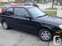 Brantford, ON 2006 Hyundai Accent GS Coupe This