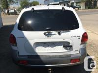 2006 Hyundai Santa Fe AWD 178,000km Loaded with leather