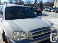 Make Hyundai Model Santa Fe Year 2006 Colour white kms