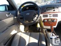 Trans Automatic This 2006 Hyundai Sonata GL has alloy