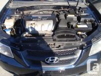 Make Hyundai Model Sonata Year 2006 Colour Black kms