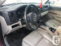 Make Jeep Model Commander Year 2006 Colour Red kms 180