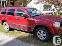 Make Jeep Model Grand Cherokee Year 2006 Colour red