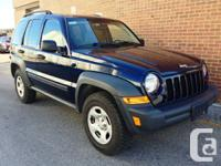2006 Jeep Liberty Sport, automatic, 4x4, brand new 4