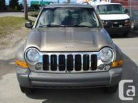 2006 Jeep Liberty Sport 4WD - $5,900