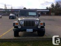 Stoney Creek, ON 2006 Jeep Wrangler Rubicon Unlimited