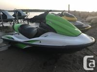 Kawasaki STX-15F is a 1500 fuel injected four stroke, 3