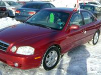 Make Kia Model Magentis Year 2006 Colour Red kms