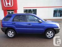 Make Kia Model Sportage Year 2006 Colour Blue kms