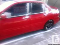 I'm selling my 2006 lancer which is an amazing car even