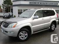 Make Lexus Model GX 470 Year 2006 Colour Silver kms