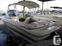 Just in...this 2006 Maxum 1800 MX has an engine with