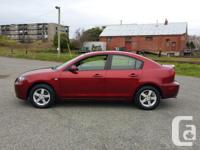 Make. Mazda. Model. MAZDA3. Year. 2006. Colour. Red.