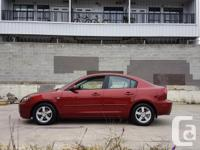 Make Mazda Model 3 Year 2006 Colour Red kms 170000