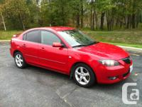 I am selling a 4 Door 2006 Mazda 3 GT with 167000km.