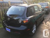 Make Mazda Model 3 Year 2006 Colour Black kms 148052