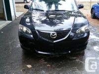 I am selling my 2006 Mazda 3 because I would like an