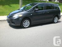 2006 MAZDA 5, FAMILIALE, 6 PASSAGERS, MANUEL, AIR