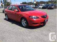 Make Mazda Model MAZDA3 Year 2006 Colour Red kms