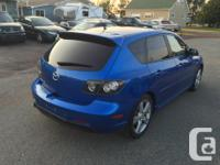 Make Mazda Model MAZDA3 Year 2006 Colour BLUE kms