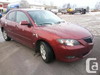 Make. Mazda. Model. 3. Year. 2006. Colour. Copper Red.