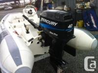 2006 Mercury Short Shaft 40 HP SEA PRO Outboard Light