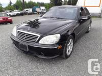 Make Mercedes-Benz Model S450 Year 2006 Colour black, used for sale  British Columbia