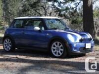 Make MINI Model Cooper S Year 2006 Colour Hyper Blue