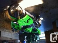 06 ninja 636 low kms runs great well conserved little