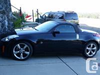 Make Nissan Model 350Z Roadster Year 2006 Colour Black