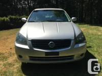 Make Nissan Model Altima Year 2006 Colour Silver kms