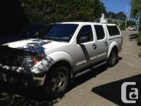 Make Nissan Model Frontier 4WD Year 2006 Colour White
