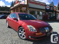 Make Nissan Model Maxima Year 2006 Colour Red kms