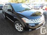 Make Nissan Model Murano Year 2006 Colour Black kms