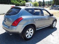 Make Nissan Model Murano Year 2006 Colour Grey kms