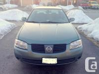 2006 Nissan Sentra 1.8 L Special Edition. Only 98,450