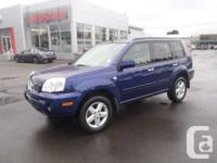 2006 Nissan X-Trail 4dr XE AWD  AWD 2.5L 4 Cylinder