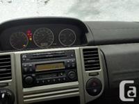 Make Nissan Model X-Trail Year 2006 Colour Black kms