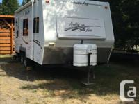 Camp all year round with this 4 season travel trailer.