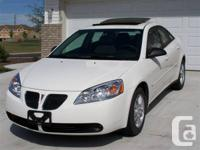 2006 Pontiac G6 4 Dr Car, 3.5 L V-6, automated