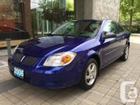 Make Pontiac Model Pursuit Year 2006 Colour Blue kms