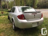 Make Pontiac Model Pursuit Year 2006 Colour Silver kms