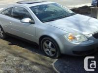 Make Pontiac Model Pursuit Year 2006 Colour gray kms
