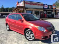 Make Pontiac Model Vibe Year 2006 Colour Red kms