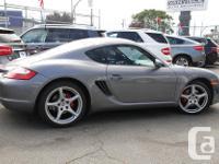 Make Porsche Model Cayman Year 2006 Colour Grey kms