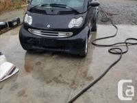 Make Smart Model Fortwo Year 2006 Colour Black kms