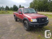 Make Ford Model Ranger Year 2006 Colour red kms 177000